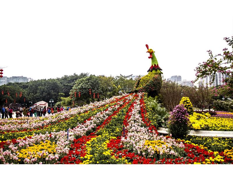 綠雕植物雕塑